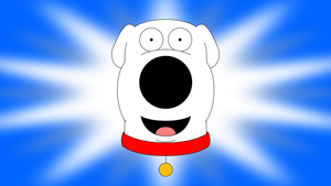 Disney Short style character card (Brian Griffin) by LDEJRuff