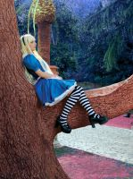 Alice Liddle Cosplay - Alice in Wonderland by TheKikih