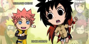 Sons of NaruSaku and LeeGaa by RockRaven-LG
