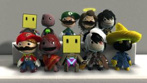 LBP Costumes 11 Group by B-manYoshi