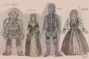 Concept Art - SotS Banquet Wear by Manda-of-the-6