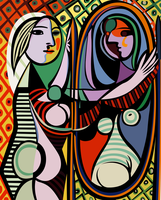 Picasso Girl Before a Mirror Vector by MaoMao27