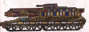 General Ironside's Hammer Tank Destroyer by Lord-DracoDraconis