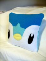 Piplup Pillow by CynicalSniper