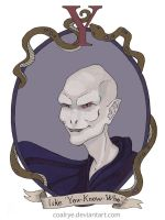 Lord Voldemort by CoalRye