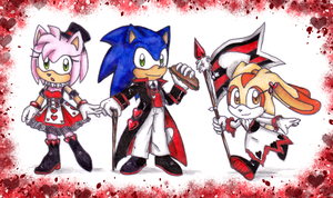 Sonic Cardverse: Hearts by Biko97