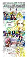Dissidia 012 - Cosmos Warriors by Moondrophime