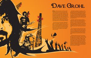 Dave Grohl Mag Spread by jcbbuller87