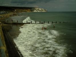 Beach and Sea. IoW. by imagination-goes-far