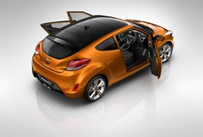 Hyundai Veloster back by subaqua