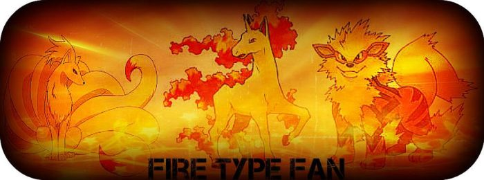 FIRE TYPE FAN by XCartoonLoverX