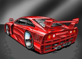 Ferrari GTO Evolution by Britt8m