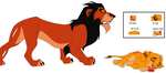 Lion King Base 6 by YunoGBases