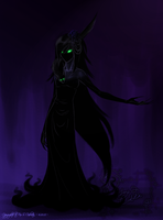 The Dark Lady by nocturnefox