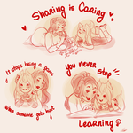 Educating with love by MaryLittleRose