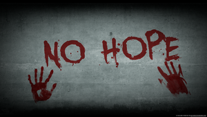 No hope Wallpaper by qcezwsx