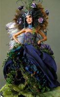 TITANIA - FOREST FAERIE QUEEN 3 by wingdthing