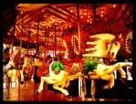 The Mad Carousel by wackycracka