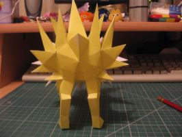 Jolteon- Butt spikes by sazmullium