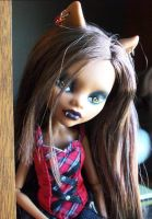 Monster High Custom Gothic Clawdeen Wolf by AdeCiroDesigns