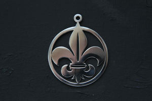 Stainless steel Adepta Sororitas pendant by Snoopyc