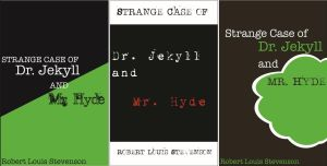 Book Covers: Dr. Jekyll and Mr. Hyde by ThePlatypusNimrod