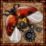 Steampunk beetle by Liuanta