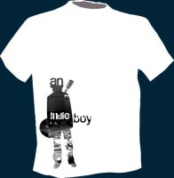 Indie Boy T shirt by CrazzHky