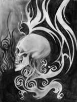 Skull In The Ether by Jesse-Robben