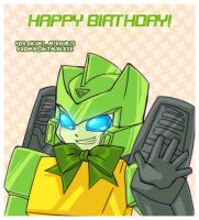 TF - Springer B-Day Card by plantman-exe
