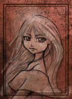 The girl of the big eyes by Celebel-Quettandil