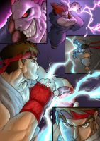 Street Fighter comic: Color by jpzilla