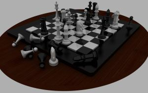 Chess Set by ShengDaFlashPRo