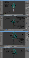 ~{MMD To Blender Posing Tutorial}~ by ShippingMovies