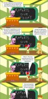 Apple Bloom's Class Report by beats0me