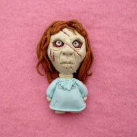 FIMO - Regan, the exorcist by buzhandmade