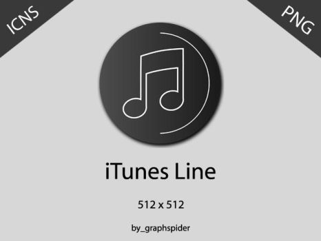 iTunes Line by graphspider