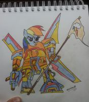 Transformer Dashie by 666inflames666