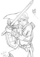 Link Sketch #2 by MiraiMika