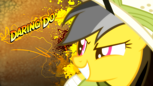 Daring Do Wallpaper by BlueDragonHans