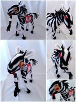 Zombie Zebra of Win Sauce by IckyDog