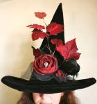 Ode To Poe Witch Hat by mermaidencreations