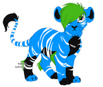 Scene Lion Adopt OPEN by Tori-Eclipse-Adopts
