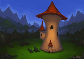 Mage Tower by TheMagicalPot