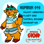 GKND Operative Numbuh 646 by kittenScientist