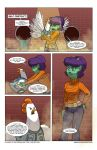 Clucked Issue 01 Page 16 by JoieArt
