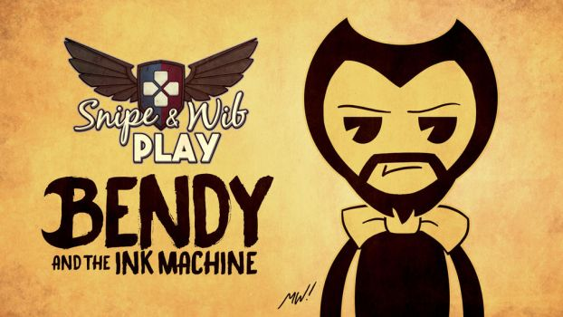 Bendy and the Ink Machine Title Card by wibblethefish