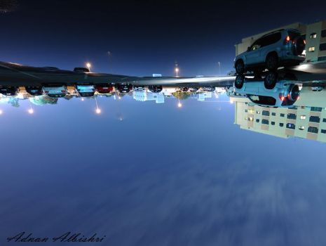 UpSide Down by albishri