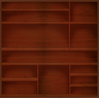 FREE - Shelf / Cabinet Stock PNG by Lucid-Dimensions