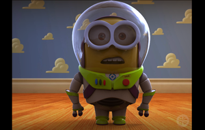 Minion Lightyear by HereticTemplar